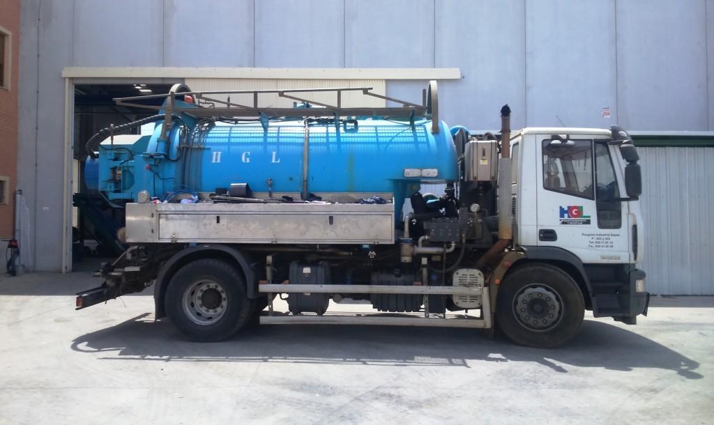 Camión cuba HGL