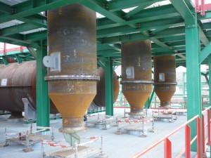 Montaje industrial U-685 y U-686