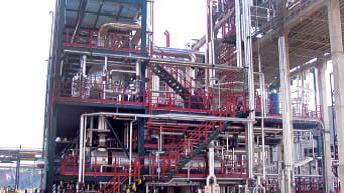 Construcción de MILD Hydrocracker
